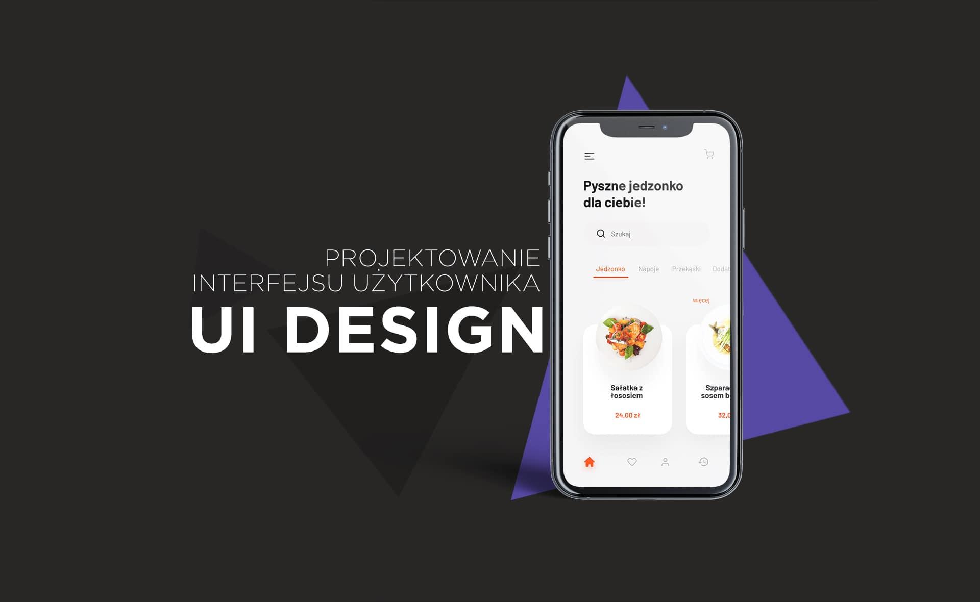 Slider - projektowanie UI design